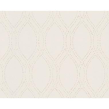 AS Creation Spot 3 A Hint of Elegance 33' x 21'' Wallpaper Roll; Beige/Metallic White