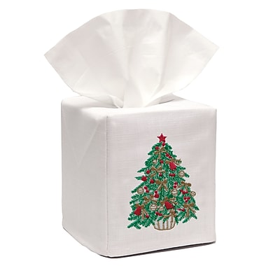 The Holiday Aisle Christmas Tree Tissue Box Cover