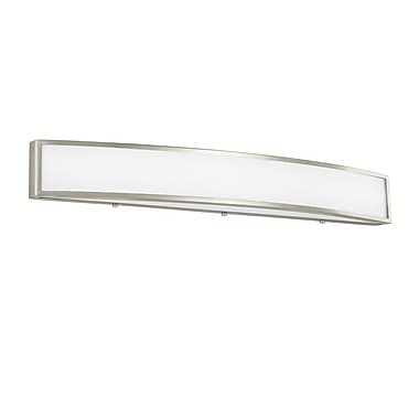 Orren Ellis Leahy LED 1-Light Bath Bar; 4.75'' H x 36.5'' W x 3.75'' D