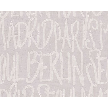 AS Creation 33' x 20'' Wallpaper Roll; Gray/Silver/Beige