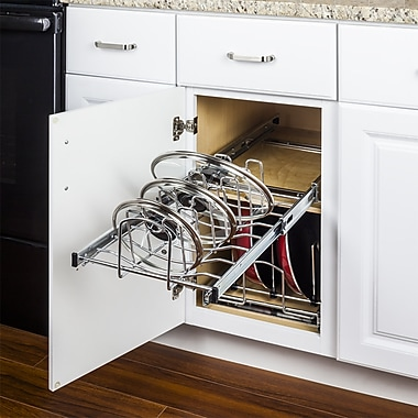 Hardware Resources Pots and Pans 5.3''H x 11.62''W x 19.87''D Drawer Organizer