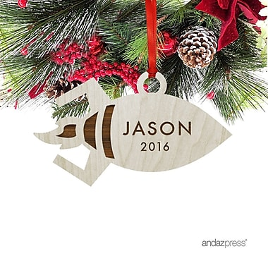 The Holiday Aisle Jason Shaped Ornament w/ Gift Bag
