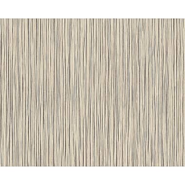 AS Creation DecoWorld 33' x 21'' Wallpaper Roll; Natural Beige/Gray