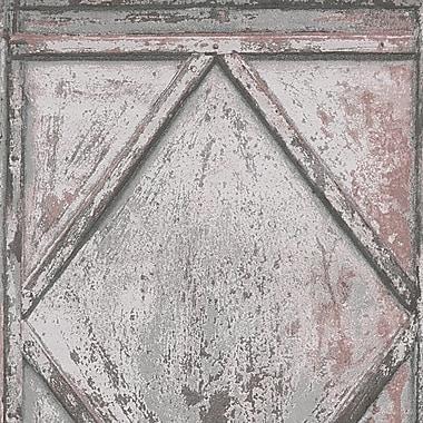 AS Creation DecoWorld 33' L x 21'' W Wallpaper Roll; Brown/Gray