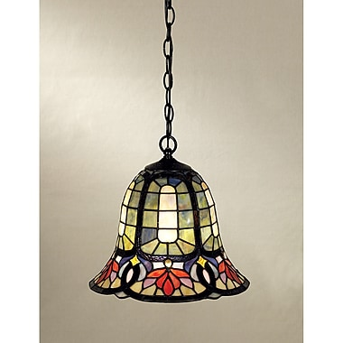 Astoria Grand Tadler 1-Light Tiffany Pendant