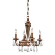 Astoria Grand Laurius 4-Light Crystal Chandelier