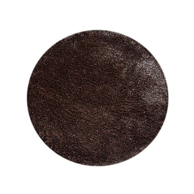 Everly Quinn Abinash Hand-Tufted Brown Area Rug; Round 8' x 8'