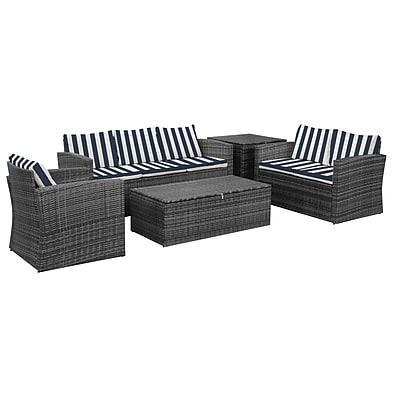Breakwater Bay Ridgemoor Weather Resistant 5 Piece Conversation Set w/ Cushions (Set of 5)