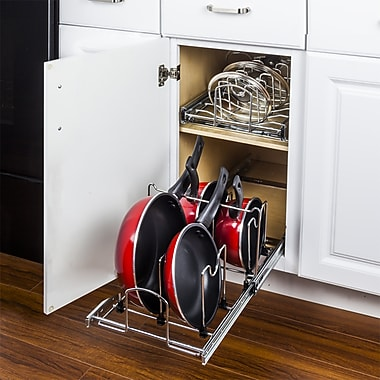 Hardware Resources Pots and Pans 9''H x 11.62''W x 19.87''D Drawer Organizer