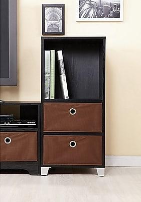 Winston Porter Brandee 2 Drawer Accent Cabinet