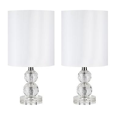 Harriet Bee Aviles 15'' Table Lamp (Set of 2)
