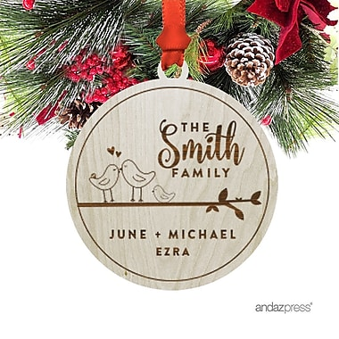 The Holiday Aisle The Smith Family Shaped Ornament w/ Gift Bag