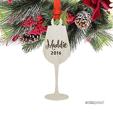 The Holiday Aisle Goblet Shaped Ornament w/ Gift Bag