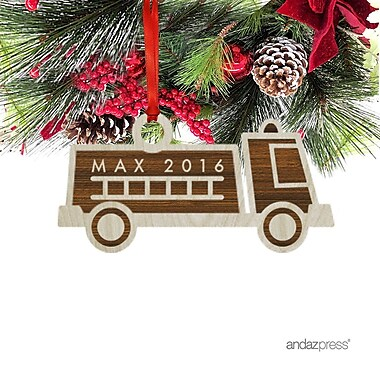 The Holiday Aisle Max Shaped Ornament w/ Gift Bag