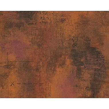 AS Creation DecoWorld 33' x 21'' Wallpaper Roll; Natural Dark Brown