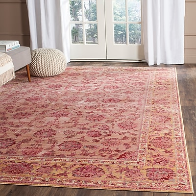 Bungalow Rose Valencia Pink Area Rug; 5' x 8'