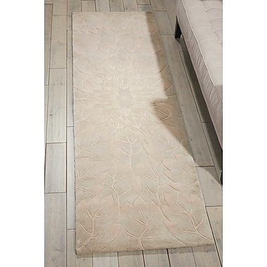 Bloomsbury Market Downing Hand-Tufted Sand Area Rug; Runner 2'3'' x 8'