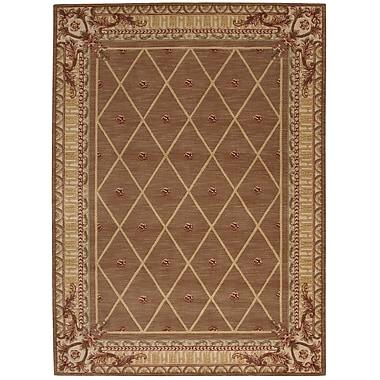 Astoria Grand Payzley Cocoa Area Rug; Rectangle 2' x 5'9''