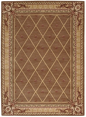Astoria Grand Payzley Cocoa Area Rug; Runner 2'3'' x 8'