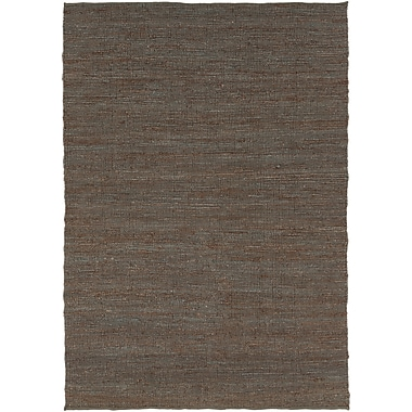 Red Barrel Studio Swapnil Chocolate Area Rug; 5' x 7'