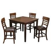 Alcott Hill Grothe 5 Piece Counter Height Dining Set