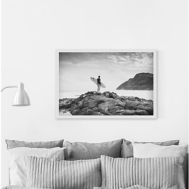 Breakwater Bay 'Feed My Soul' Framed Photographic Print on Canvas; 12'' H x 18'' W
