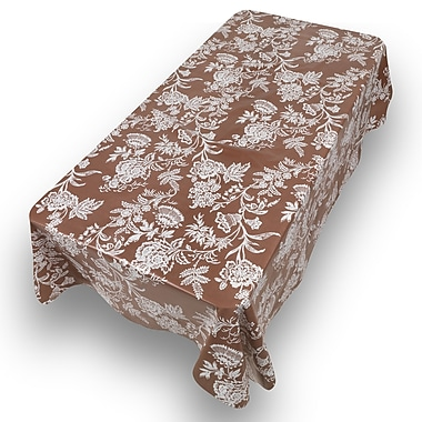 Alcott Hill Alosio Floral Cheer Oblong Tablecloth; 90'' W x 52'' L
