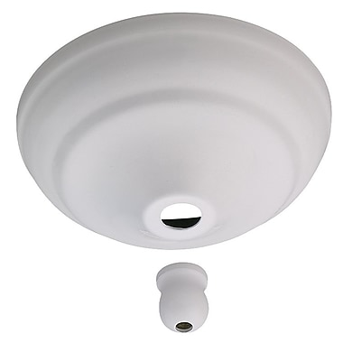 Darby Home Co Anais Bowl Cap Kit for Concealing Pull-Chain Controls; White