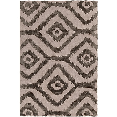 Bloomsbury Market Domenic Hand-Tufted Natural/Gray Area Rug; 7'9'' x 10'6''