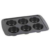 Home Basics 6-Cup Non-Stick Muffin Pan