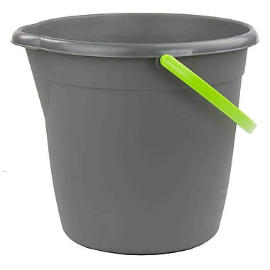 Home Basics Brilliant Plastic Cleaning Bucket