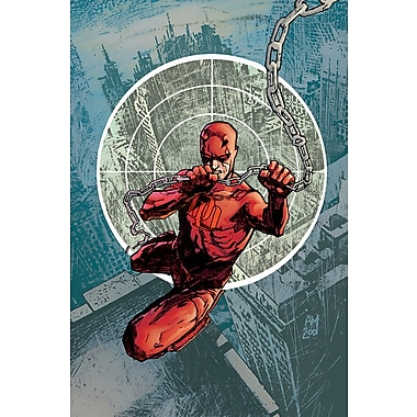 iCanvas 'Marvel Knights Presents Daredevil' by Marvel Comics Graphic Art on Wrapped Canvas