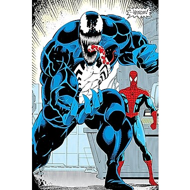iCanvas 'Marvel Comics Retro Venom' by Marvel Comics Graphic Art on Wrapped Canvas