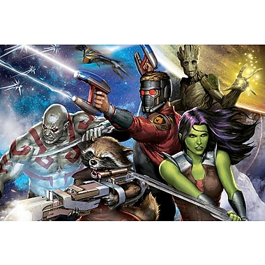 iCanvas 'Guardians of the Galaxy' by Marvel Comics Graphic Art on Wrapped Canvas