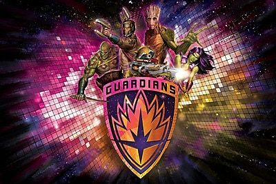 iCanvas 'Guardians of the Galaxy Group Situational' by Marvel Comics Graphic Art on Wrapped Canvas