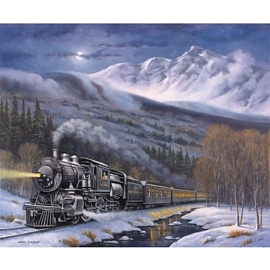 Loon Peak 'Union Pacific' Graphic Art Print; Rolled Canvas