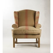 Darby Home Co Barnicle Stripes Wingback Chair