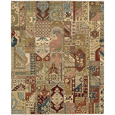 Darby Home Co Degory Hand Knotted Multi Area Rug; 9'9'' x 13'9''