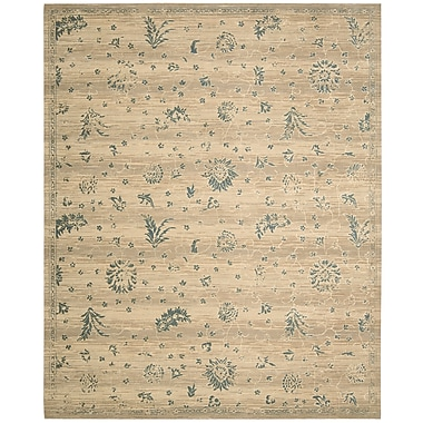 Darby Home Co Eidelweiss Beige Medallion Rug; 5'6'' x 8'
