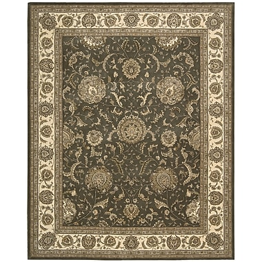 Darby Home Co Ellerswick Hand Woven Wool Slate Indoor Area Rug; Rectangle 9'9'' x 13'9''