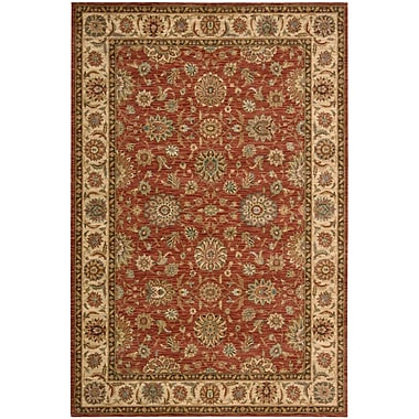 Darby Home Co Crownover Wool Rust Area Rug; Rectangle 9'9'' x 13'9''