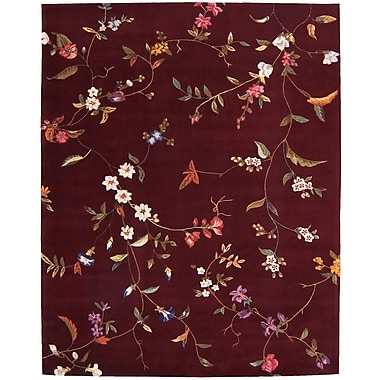 Darby Home Co Elliott Ruby Area Rug; Rectangle 3'6'' x 5'6''