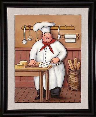Winston Porter 'Chef 3' Graphic Art Print; Bistro Expresso Framed Paper
