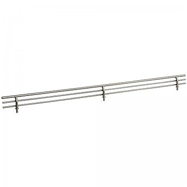 Hardware Resources Shoe Fence; Satin Nickel