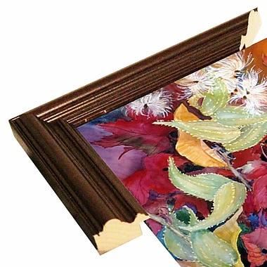 Winston Porter 'Fall Milkweed' Print; Cherry Wood Grande Framed Paper