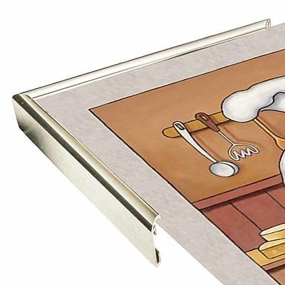 Winston Porter 'Chef 3' Graphic Art Print; Silver Metal Framed Paper