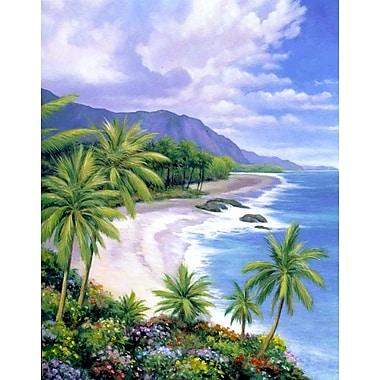 Bay Isle Home 'Tropical Paradise 1' Graphic Art Print; Paper