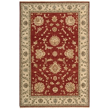Darby Home Co Degory Hand-Knotted Red Area Rug; 5'6'' x 8'6''