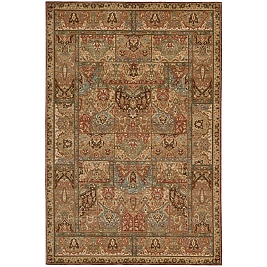 Darby Home Co Crownover Wool Brown Area Rug; Rectangle 7'6'' x 9'6''