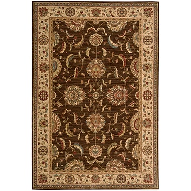 Darby Home Co Crownover Brown Area Rug; Rectangle 8'3'' x 11'3''